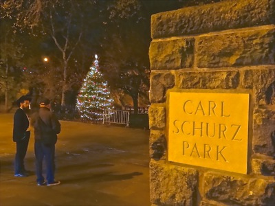 carl schurz park holiday lighting manhattan nyc holiday events tree lightings upper east side manhattan holiday things to do nyc