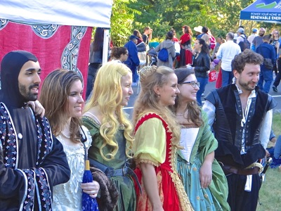medieval festival fort tryon park washington heights neighborhood nyc