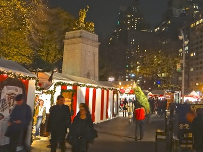 upper west side holiday things to do columbus circle holiday market uws holiday things to do nyc