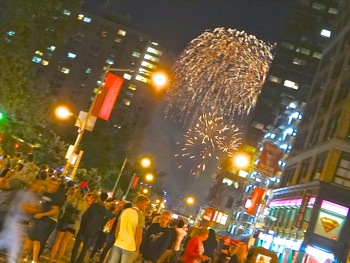 Friday 2014 _ 4th of july fireworks manhattan nyc
