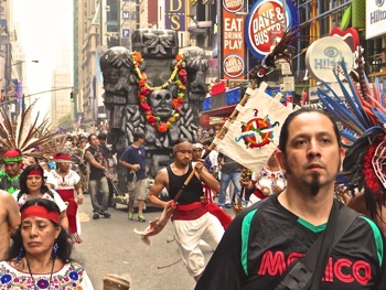 photos costumes props in peoples climate march