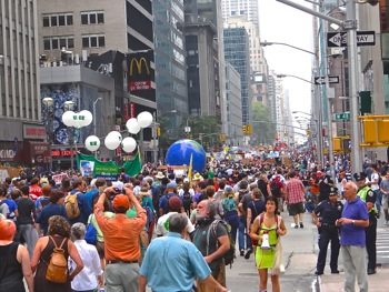 climate change march nyc