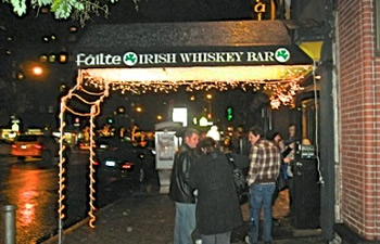 failte irish whiskey bar midtown manhattan nyc