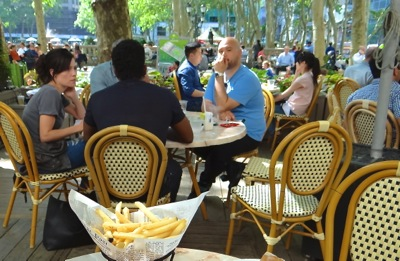 bryant park grill nyc photos
