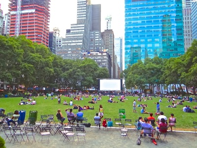 bryant park photo free summer movies manhattan nyc