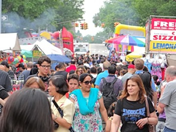 manhattan street fairs