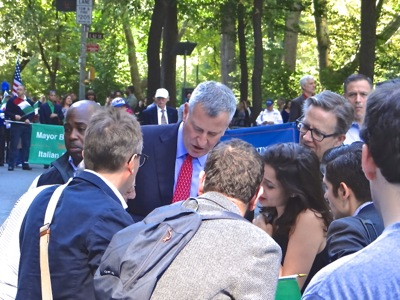 mayor bill de blasio photo