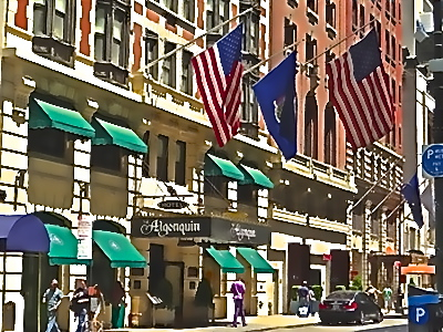nyc hotels near theater district algonquin hotel photo