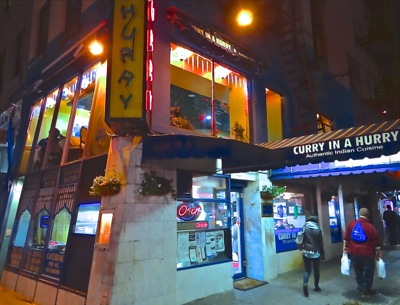 Indian Restaurants Manhattan Curry In A Hurry Midtown Nyc On Buzz