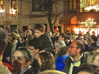 park ave tree lighting UES nyc