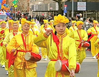 chiinese new year parade manhattan