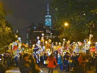village halloween parade nyc