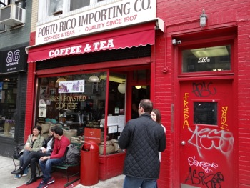 Porto Rico Importing Company - Coffee & Tea East Village NYC | nyc porto rico importing co coffee tea stores east village porto rico importing coffee tea stores manhattan nyc