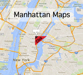 Manhattan Maps - Manhattan Maps Sctn | Maps cultural community organizations restaurants shops neighborhoods Midtown, the Upper East Side, upper west side nyc, the East Village, West Village, Chelsea, Murray Hill, Gramercy Park in manhattan NYC.
