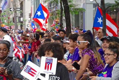 puerto rican parade nyc photos